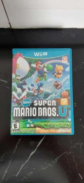 Juego Super Mario Bros Wii u