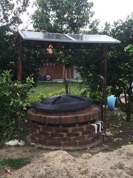 Aljiber O Poso Bomba Sumergible Solar