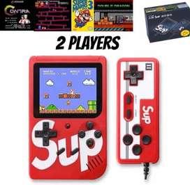 Consola sup (2) jugadores 400 juegos