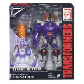 Transformers Generations Titans Return Nucleon & Galvatron