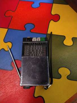 Sony radio Icr 4800 6 bandas