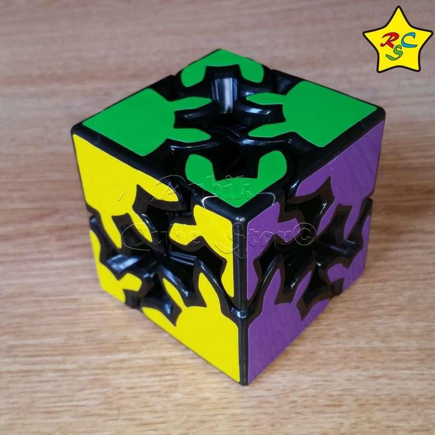 Cubo Rubik Gear Shift 2x2 Textura Cubo Engranajes Zcube 0