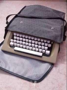 Maquina de Escribir Olivetti + Maletín Protector Original GRATIS
