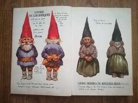 Libro completo de los gnomos, original años 80