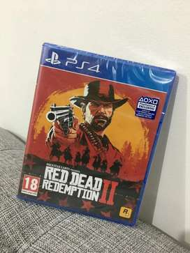 ¡NUEVO! Red Dead Redemption II - PS4