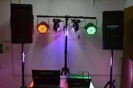 Audio y Luces profesional, DJ | para eventos y fiestas en Bucaramanga