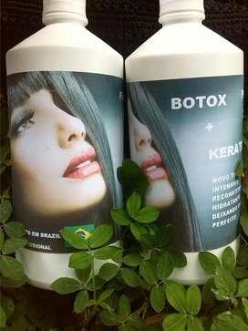 Keratina con Botox Alisante