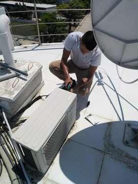 Instalación, mantenimiento y reparación de aires mini split