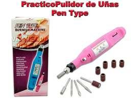 Práctico Pulidor De Uñas Pen Type