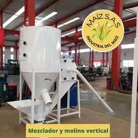 Mezclador y molino vertical  entrega inmediata