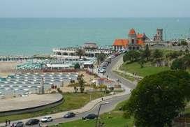EXCELENTE 2 ambientes Vista lateral al Mar. zona Torreon