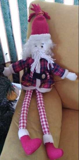 Muñeco navidad patas largas