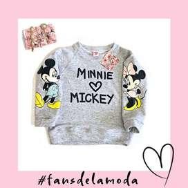 Buzo Minnie Mickey