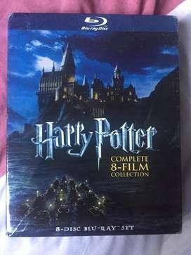 Coleccion completa de peliculas de Harry Potter