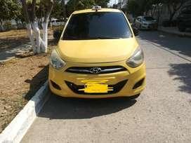 Taxi Hyundai I10.