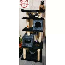 Gimnasios rascadores para gatos