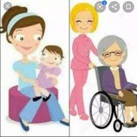 Soy cuidadora de adultos mayores, con experiencia.
