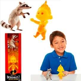 Increíbles  2 Juguete Didáctico Figuras Jugueteria Original