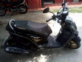 Yamaha Bws x Motard como nueva