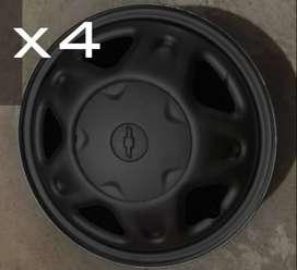 Rin 14 sencillo X4 chevrolet Usado