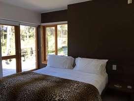 ac88 - Cabaña para 2 a 5 personas con pileta y cochera en Villa La Angostura