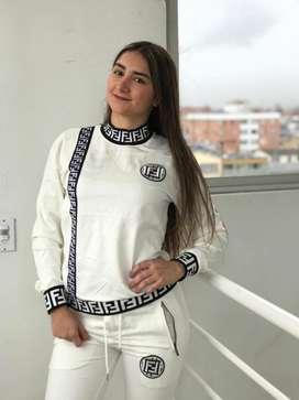 sudadera FENDI  para mujer alta gama en algodon