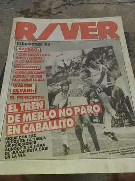 Revista river 1989