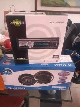 Radio y parlantes