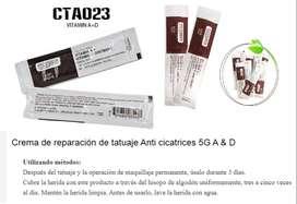 crema vitamina  A & D anti cicatriz tatuaje reparación X 3