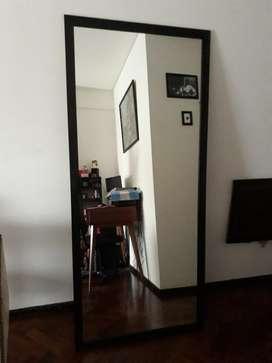 Espejos con Marco de Madera