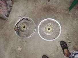 Rines con disco para kymco spike 125