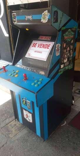 Se vende maquina video juegos para su tienda o local