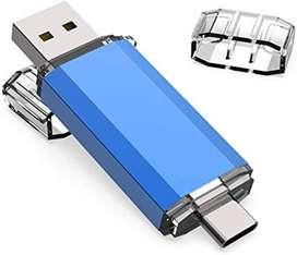 Memoria USB 3.0 32 Gigas -Dual Pen Drive Doble Entrada