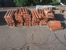 Vendo tejas de techo para loza