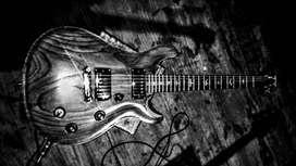 Guitarra tipo PRS