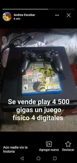 Se Vende Play 4 Full  750.00p