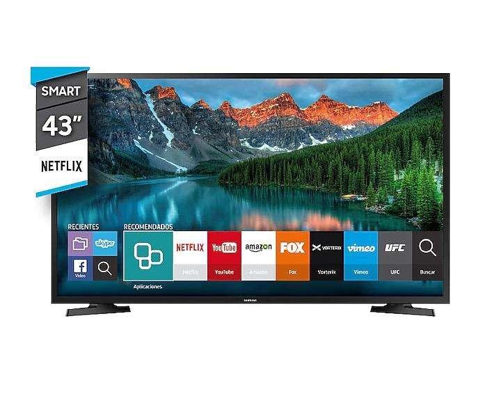 Tv Samsung Smart 43 pulgadas 0