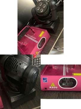 Laser bigdipper k800 y cabeza doble robotica