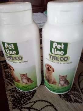 Talcos para perros y gatos x 120grs