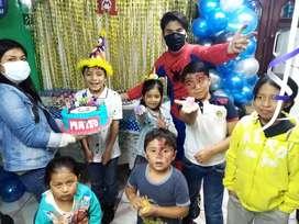 Animaciones de fiestas para niños, fiestas infantiles