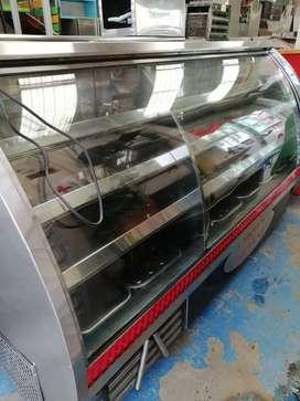 Congelador Exibidor con divicion