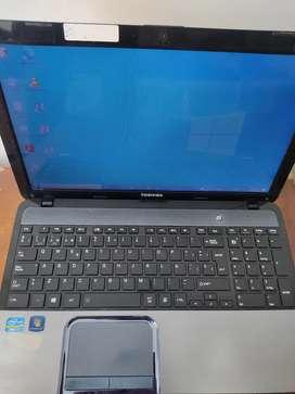Portatil Toshiba Core I7