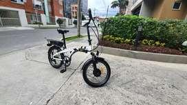 Vendo Hermosa Bicicleta Electrica Plegable GO-GREEN - NO SE ACEPTAN CHEQUES