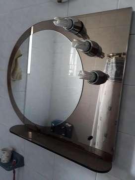 Espejo de Baño 3 Luces