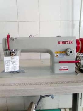 Máquina de coser plana Kingter