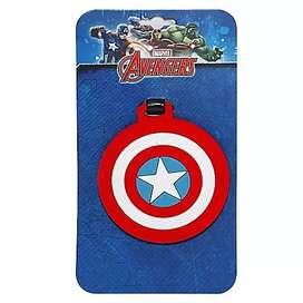 Tag Para Mochila Capitan America Marvel