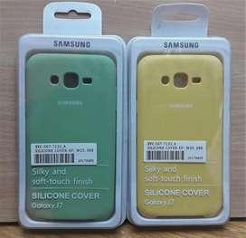 Funda Siliconada Soft CASE Originl Samsung J7 J7 Neo