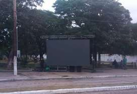 Alquilo pantalla gigante de led p6 - proyectores para pantalla de tela de 4x3 5.000 lumenes - drones 4K y grabación 4K