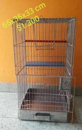 Vendo jaulas para cobayos,conejos,hamsters y aves