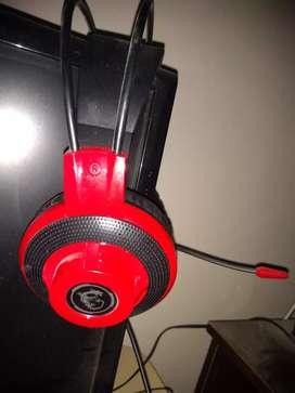 Auricular gaming con microfono